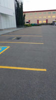 Your parking lot collecting water? Asphalt broken? Lines faded?