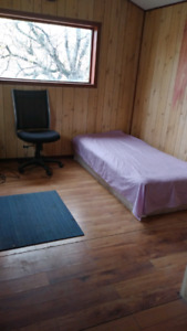 Furnished suite for rent close to downtown with internet cable.