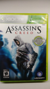 ASSASIN'S CREED XBOX 360 MINT CONDITION