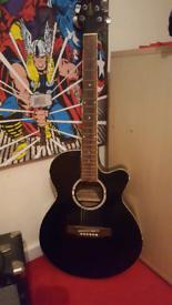 Ridgewood electro acoustic guitar full size