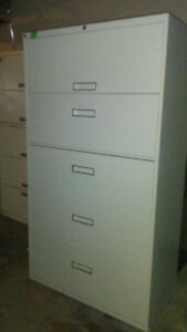 5 Drawer lateral filing cabinet!