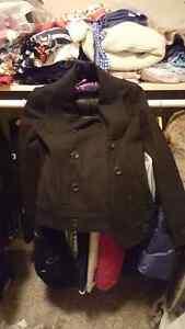 Le chateau Black Wool Pea Coat  Size XXS Regina Regina Area image 2