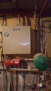 Chromalox Heating Furnace + Pump + Expansion Tank