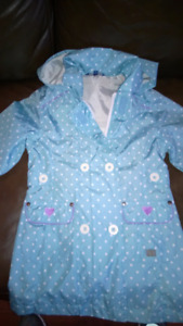 Imperméable fille 4T neuf
