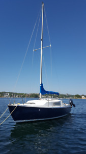 23 ft Olympic Dolphin Sailboat