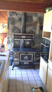 Antique Early 20th Century Wood Cook Stove