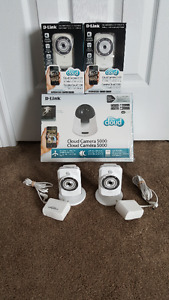D-Link Indoor Security Camera Package - WIFI