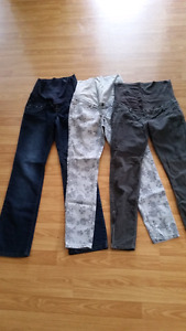 9 pair Maternity pants size small