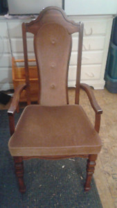 high back kitchen/dining chair