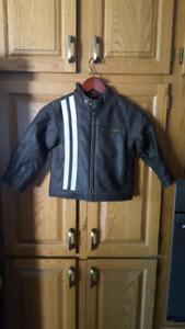 Boy's Gap pleather Jacket size 3-4