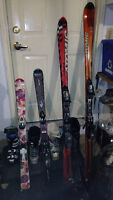 parabolic skis and boots