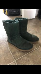 UGG boots dark green size 8