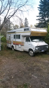 Motor home for sale.
