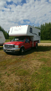 FOR SALE 2001 BIG FOOT TRUCK CAMPER AND 2004 FORD SUPER DUELLY