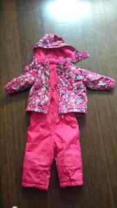 Girls jacket, Snow pants and boots
