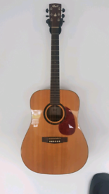Cort Earth 100 SE NAT Acoustic Guitar And Gigbag