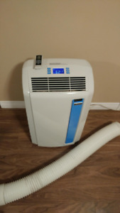 Portable air conditioner and dehumidifier