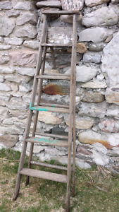 Wooden Painters Ladder
