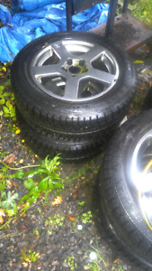 Winter tires 225/55/16