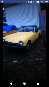 1978 MGBs One MIDGET One ROADSTER $3000 TAKES BOTH