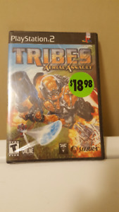 PlayStation 2 Game - TRIBES Aerial Assault - Unopened