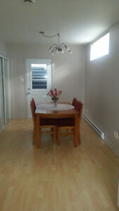 3 1/2 furnished apartment for rent, available July 1st
