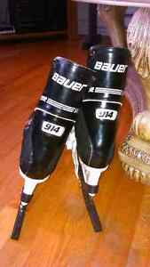 BAUER SUPREME 914 PROFESSIONAL HOCKEY SKATES FROM LATE 80s