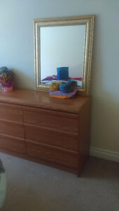 Dresser and 2 night stand