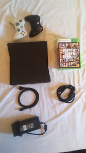 xbox 360 + remotes and games
