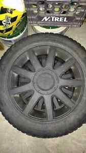 4 Audi mags and tire 215/55R16 Gatineau Ottawa / Gatineau Area image 1