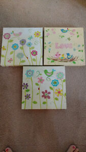 Nursery Canvases (3)