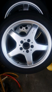 5x112 Amg Wheels 17in Continental Contiprocontact