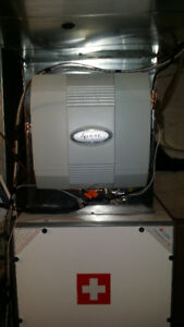 Whole home Central humidifier Installation --Orangeville