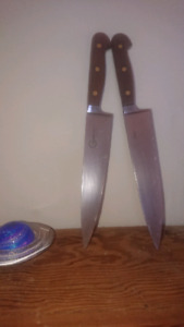 2 Very best chef knives by Grohmann in Nova Scotia