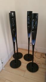LG Freestanding Speakers