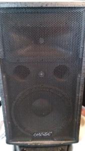 Haut-parleurs et amplificateur