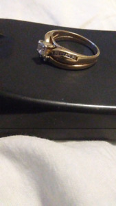 Three gold womens  rings size 5 1/2 and size 8 .$.600 for all