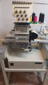 Brother BAS-416 Professional Embroidery Machine