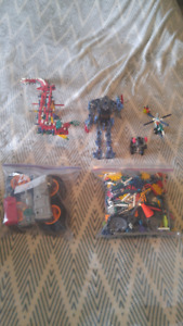 Assorted K'Nex Construction Toys