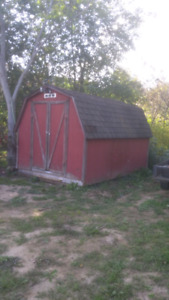 wired,,8x12 babybarn/shed
