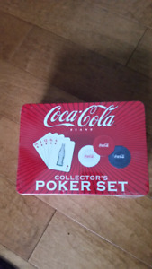 Coca-Cola Poker set in Collector's tin