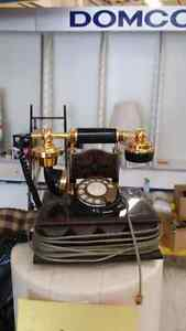 Antique phone replica