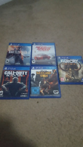 Ps4 games($20each)