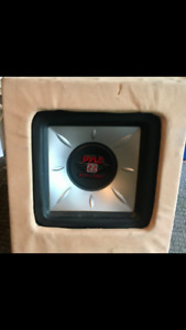 PYLE 12-inch Car audio  Subwoofer in a box.