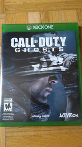 Call of duty Ghost -- Xbox One