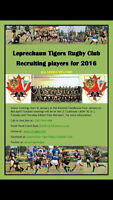 Leprechaun Tigers Rugby Club Recruiting Players for 2016