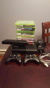 Xbox 360 + 16 Games and a Kinect