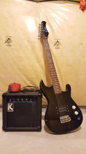 Youth Guitar with Amp Combo