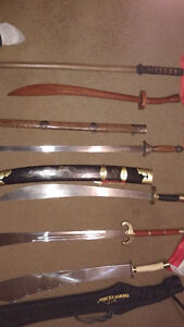 Martial arts weapons. Cambridge Kitchener Area image 1