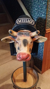 Cow Planter and Mailbox